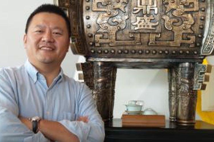 Presiden of Alibaba Business Group Yu Yongfu.