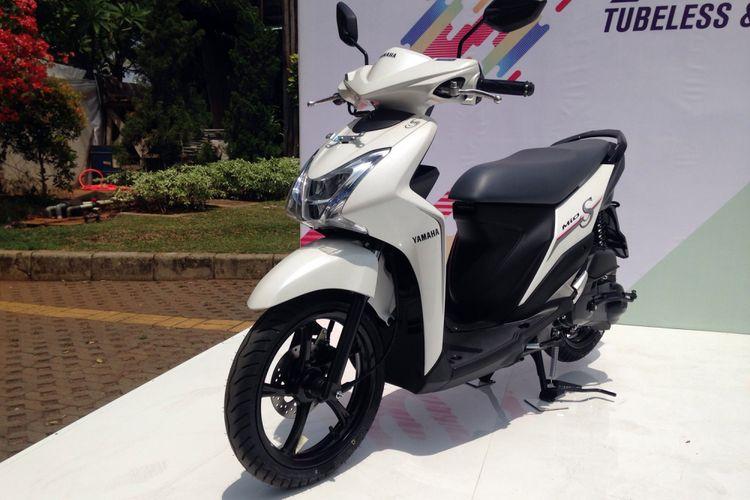 Yamaha meluncurkan generasi baru Mio S di Ancol, Jakarta Utara, Sabtu (14/11/2017).