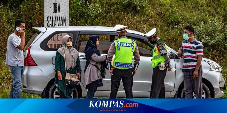 Tanpa SIKM, Pemudik Bisa Masuk Jakarta Setelah 7 J
