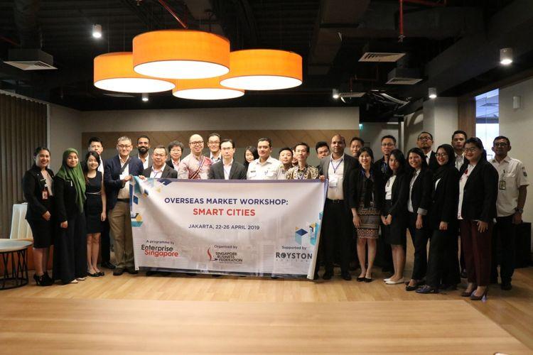 SBF melakukan rangkaian kegiatan bertajuk ?Overseas Market Workshop : Smart Cities and Infrastructure.