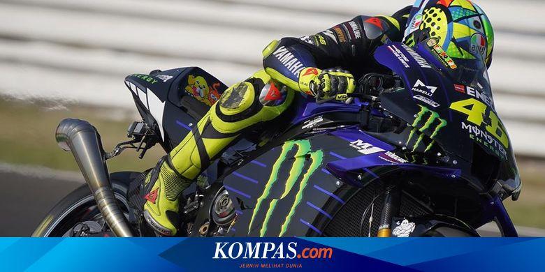 Alasan Rossi Usai Tampil Kurang Menggigit pada FP1