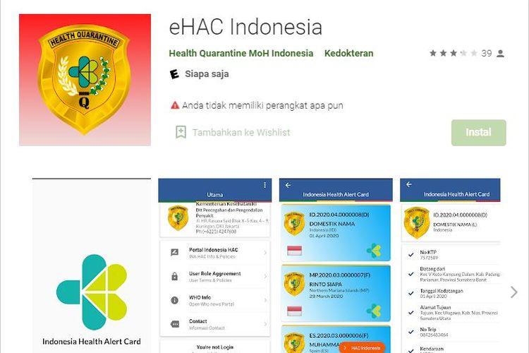Aplikasi e-HAC yang wajib diisi bagi penumpang moda transportasi udara dan laut. Pengisian e-HAC jadi syarat wajib yang harus diikuti oleh para penumpang di masa berlaku larangan mudik.