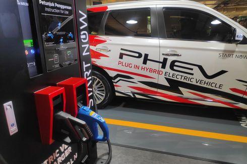 Cara Penggunaan Quick Charging Mobil Listrik Mitsubishi [VIDEO]