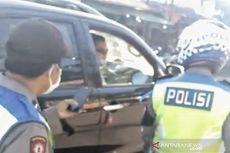 Polisi Naik Fortuner Adu Mulut dengan Anggota Satlantas, Kesal Ditegur Tak Pakai Masker