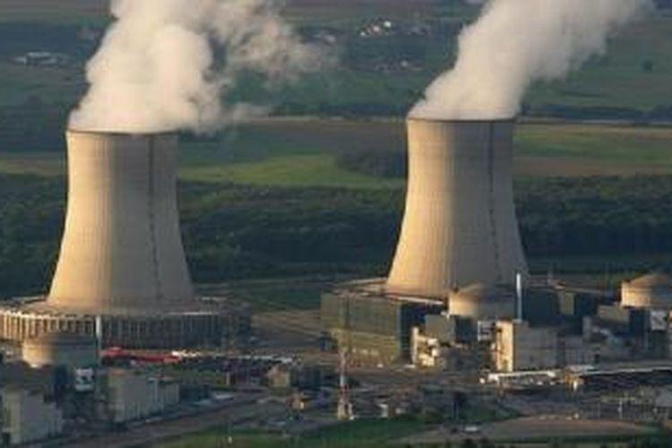Pembangkit listrik tenaga nuklir di  Cattenom, Perancis bagian timur, merupakan salah satu dari tujuh pembangkit yang dilintasi drone misterius.