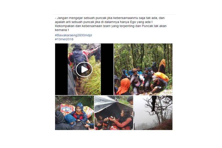 Kisah yang diposting Alim Alwi Yusuf di Facebook-nya viral soal penyelamatan kepada seorang pendaki yang mengalami hipotermia setelah ditinggal temannya.