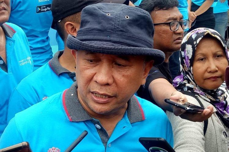 Menteri Koperasi dan Usaha Kecil Menengah (UKM), Teten Masduki di Solo, Jawa Tengah, Minggu (2/2/2020).