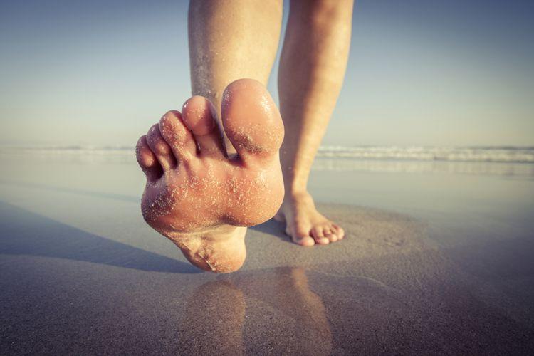 Ilustrasi jalan kaki