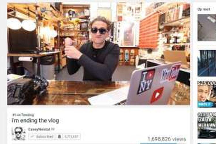 Casey Neistat pamit dari jagat vlog.