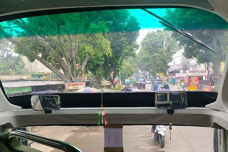 Kabin bus AKAP PO Nusantara