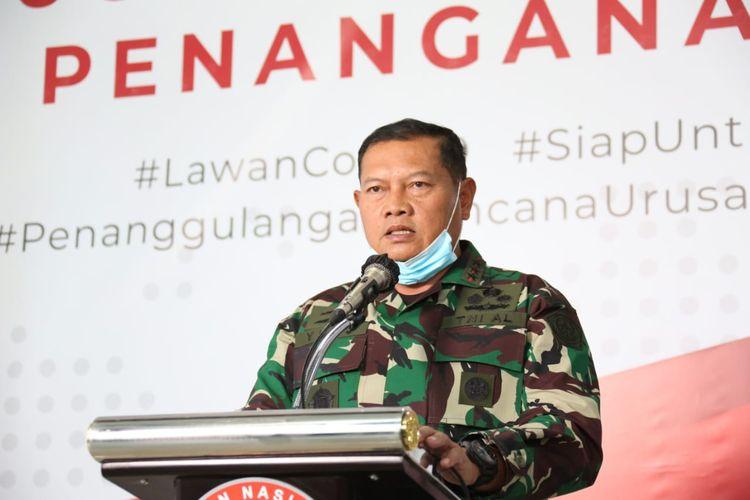 Panglima Komando Gabungan Wilayah Pertahanan (Pangkogabwilhan) I Laksamana Madya Yudo Margono, Senin (23/3/2020).