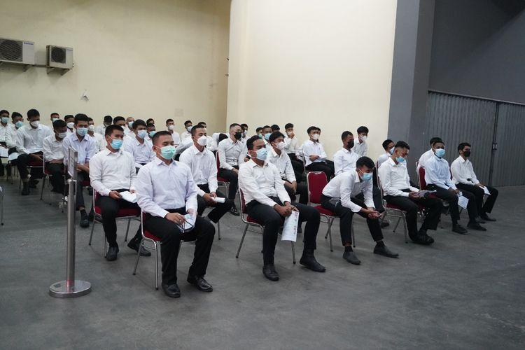 Sebanyak 316.554 orang dinyatakan lulus tahapan seleksi administrasi penerimaan Calon Pegawai Negeri Sipil (CPNS) Kementerian Hukum dan HAM pada Selasa (3/8/2021).