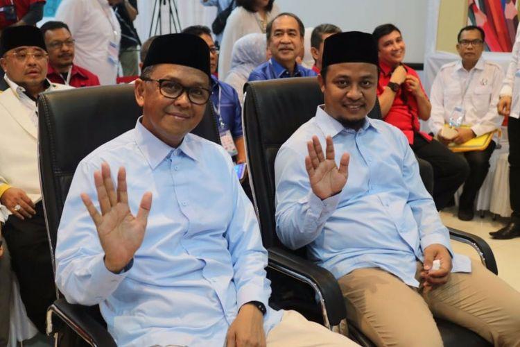 Pasangan Prof Nurdin Abdullah-Andi Sudirman Sulaiman.