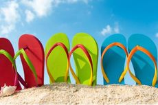 Sandal Jepit yang Nyaman Simpan Ragam Ancaman