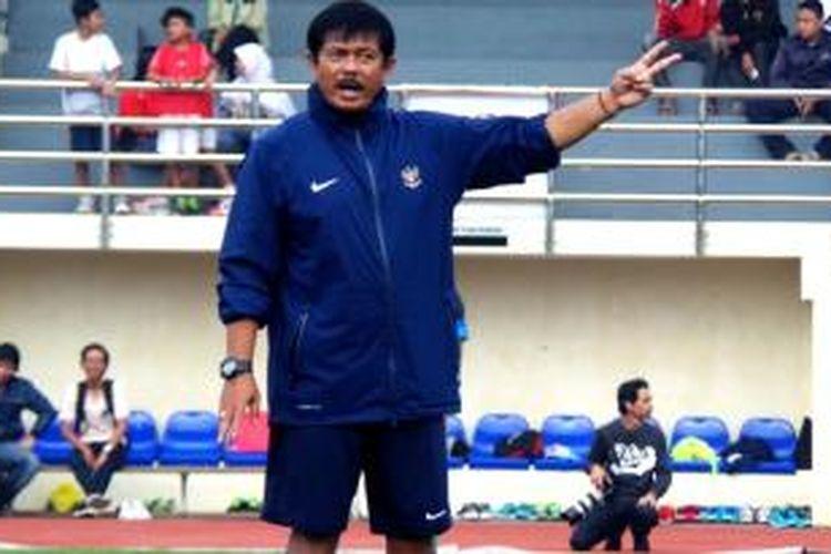 Pelatihg Tim Nasional Indonesia U-19, Indra Sjafri.