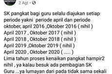 Kritik Kebijakan Bupati Lewat Facebook, Ketua PGRI Jember Diperiksa Inspektorat
