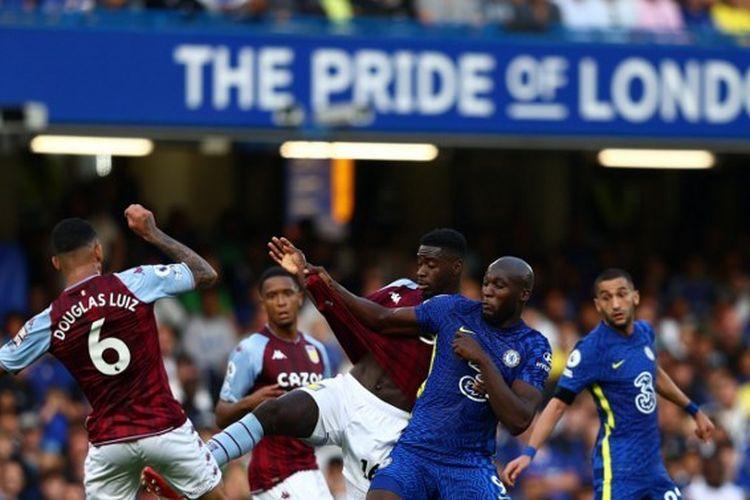 Pertandingan Chelsea vs Aston Villa pada pekan keempat Liga Inggris 2021-2022 di Stadion Stamford Bridge, Sabtu (11/9/2021) malam WIB.