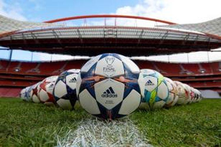 Adidas Finale Lisbon, bola resmi Liga Champions.