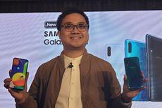 Mengintip Isi Kemasan dan Menjajal Samsung Galaxy A50s
