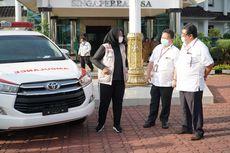 2 Unit Ambulans Innova Tiba di Karawang