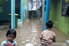 Air Kali Ciliwung Meluap, Permukiman Warga di Kebon Pala Banjir