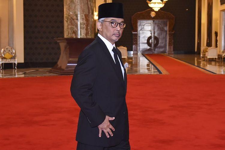 Foto yang dirilis Departemen Informasi Malaysia pada Kamis (24/1/2019) menampilkan Sultan of Pahang, Sultan Abdullah Sultan Ahmad Shah usai pertemuan di Istana Negara, Kuala Lumpur. Sultan Abdullah terpilih menjadi raja baru Malaysia untuk masa jabatan lima tahun.