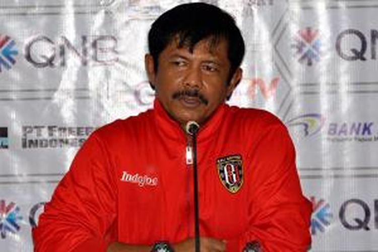 Indra Sjafrie, pelatih Bali United.