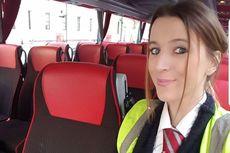 Mantan Model Majalah Dewasa Banting Setir Jadi Sopir Bus