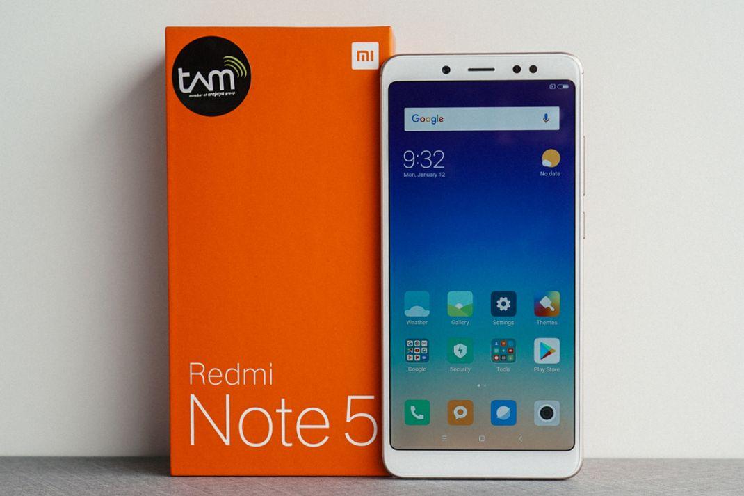 tekno xiaomi redmi note 5 AI hands on 1
