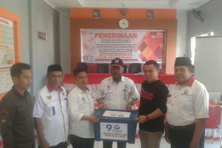 Perindo, Partai Pertama Mendaftarkan Bakal Calegnya di KPU Luwu