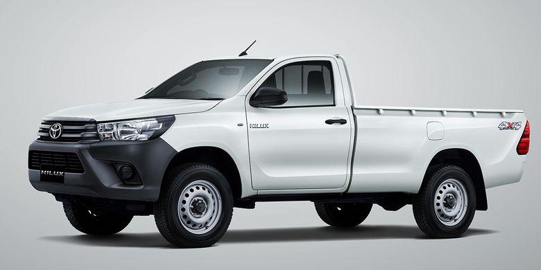 Toyota Hilux Single Cabin Diesel Pakai Mesin Baru