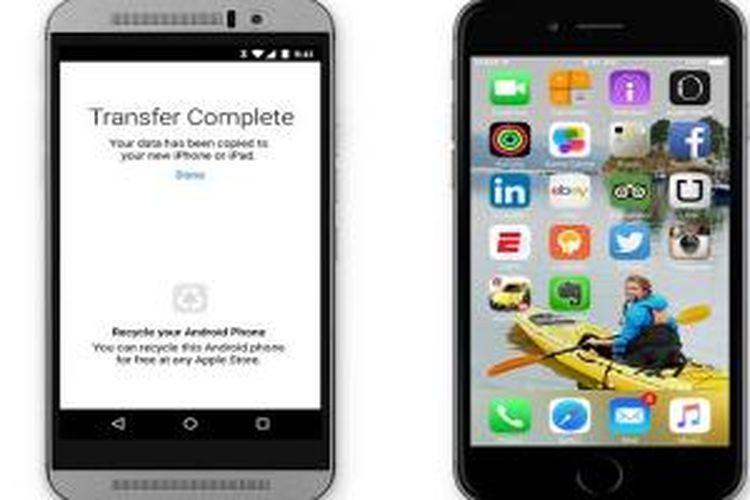 Aplikasi Move to iOS memudahkan pengguna Android beralih ke iOS