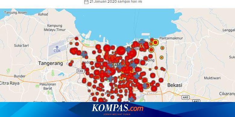 PSBL, Cara Jakarta Kunci RW Zona Merah Covid-19