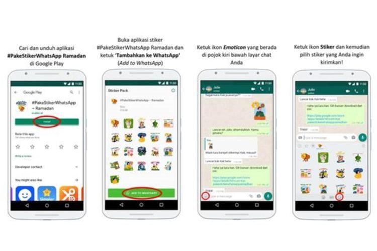 Stiker Spesial Ramadhan di WhatsApp