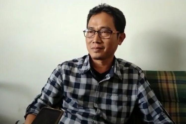Komisioner KPU Kabupaten Tasikmalaya, Jajang Jamaludin.