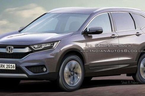 Honda CR-V Terbaru Punya Bodi Lebih
