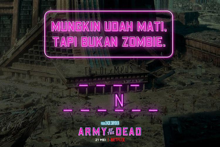 Petunjuk kode brankas seperti film Army of The Dead