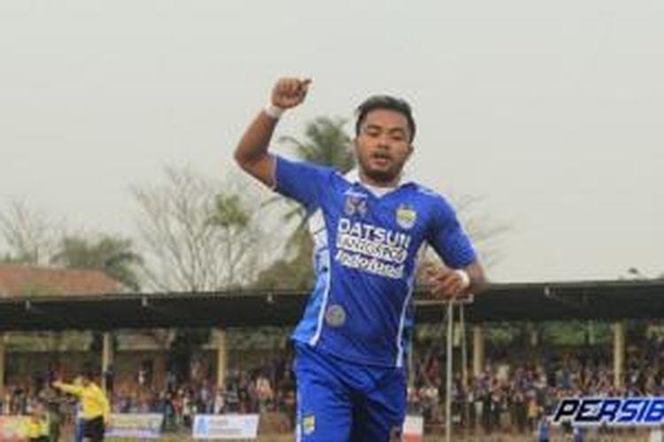 Pemain Persib Bandung, Zulham Zamrun.