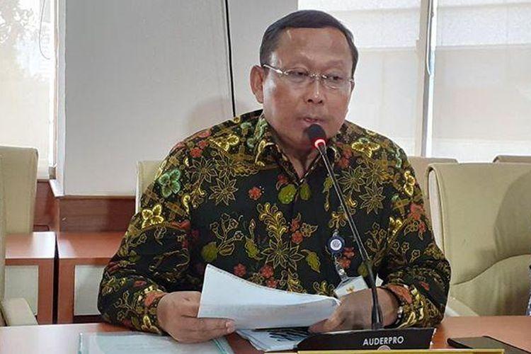 Direktur Jenderal Perhubungan Darat Kemenhub Budi Setiyadi, Jumat (13/3/2020).