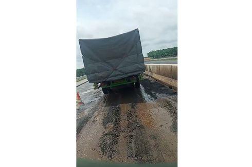 Viral Jalan Tol Palembang Disebut Rusak hingga Tak Boleh Dilewati Truk