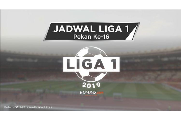 Jadwal Liga 1 2019, Pekan Ke-16