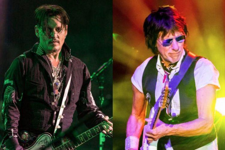 Johnny Depp terlibat dalam pembuatan musik untuk album Jeff Back