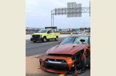 Pria di AS Tewas Terkena Lemparan Beton saat Mengemudi Mobil