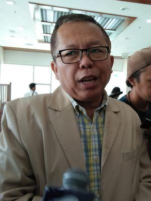 Anggota Komisi III DPR RI, Arsul Sani di Kompleks Parlemen, Senayan, Jakarta, Selasa, (16/7/2019)
