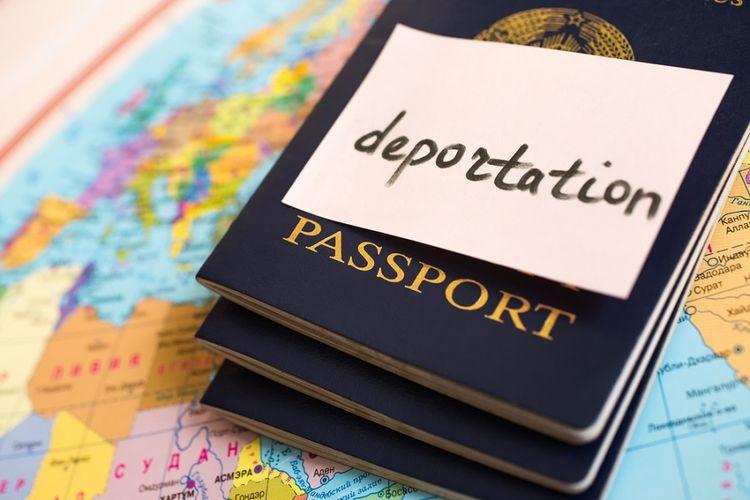 Ilustrasi deportasi.