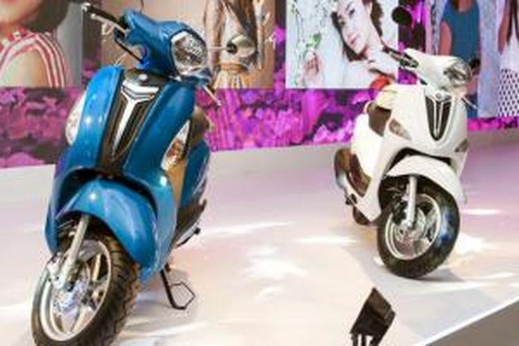 Yamaha Nozza Grande bermesin Blue Core meluncur di Vietnam.