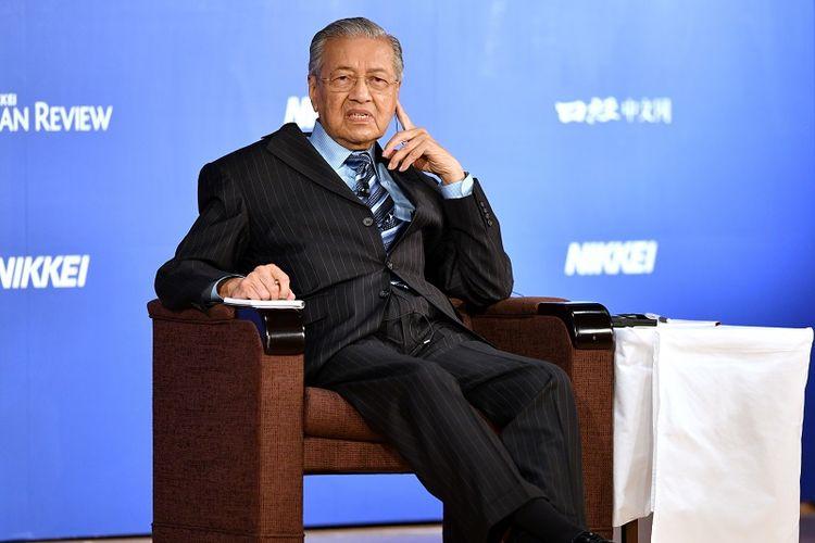 PM Malaysia, Mahathir Mohamad.