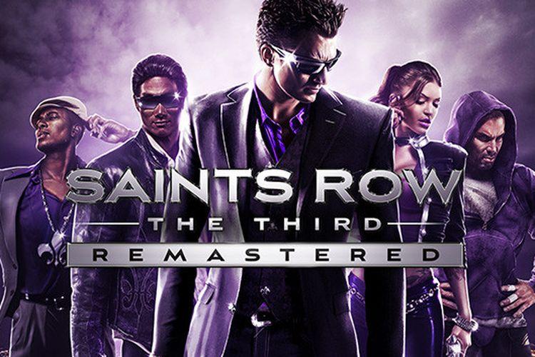 Ilustrasi game Saints Row: The Third Remastered.
