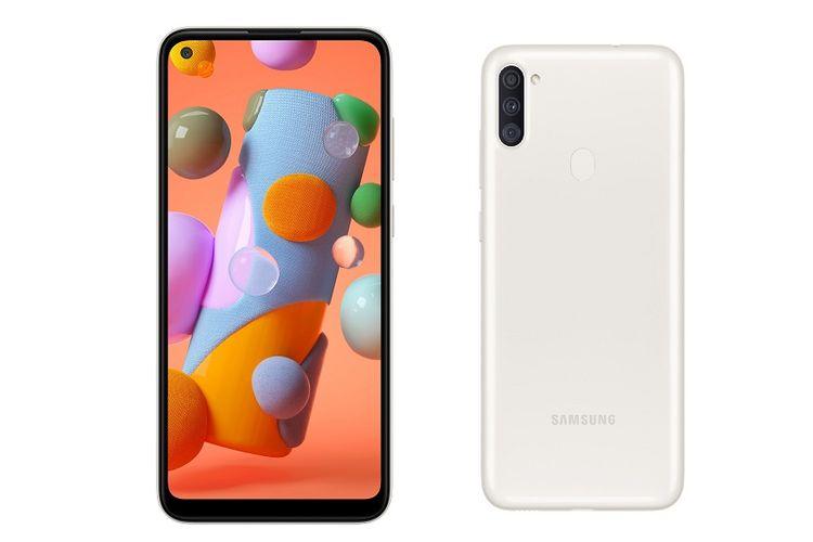 Spesifikasi dan Harga Samsung Galaxy A11 di Indonesia