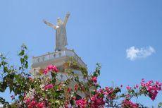 Bukan di Brasil, Ini Patung Yesus di Ujung Timur Saumlaki